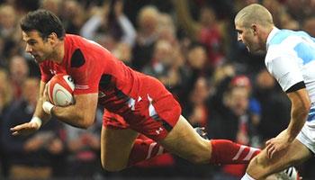 Wales break Autumn International hoodoo with win over Argentina