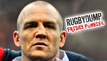 Friday Funnies - Mike Tindall and his nose on A League of Their Own