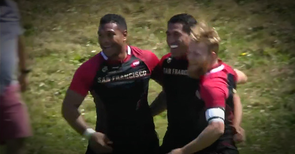 All Black legend Mils Muliaina scores first try in USA Pro Rugby with first touch
