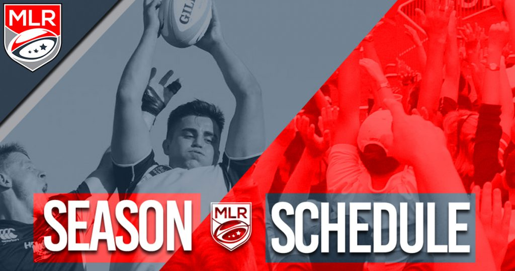 USA's Major League Rugby announces schedule for 2018 inaugural season