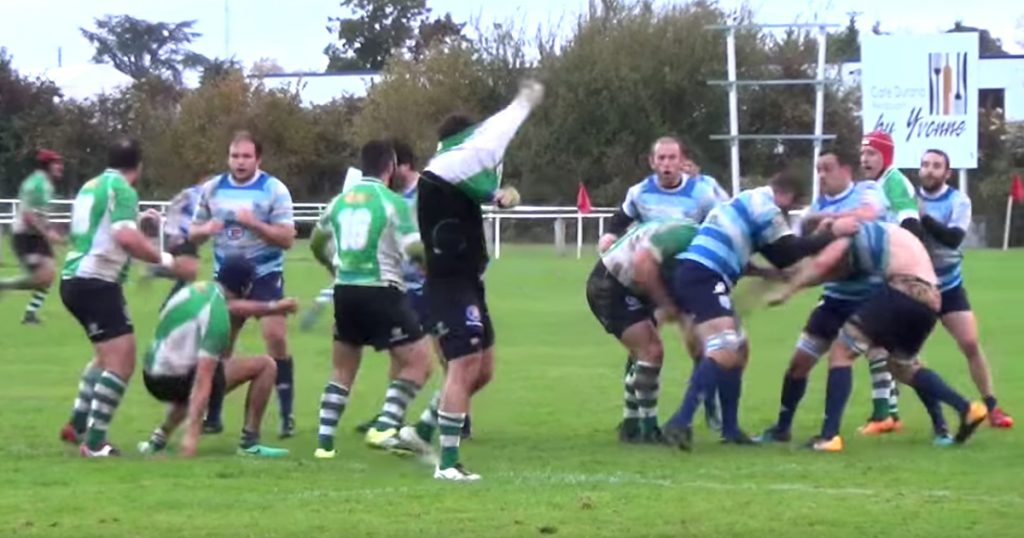 Montauban let the fists fly in third division mass brawl