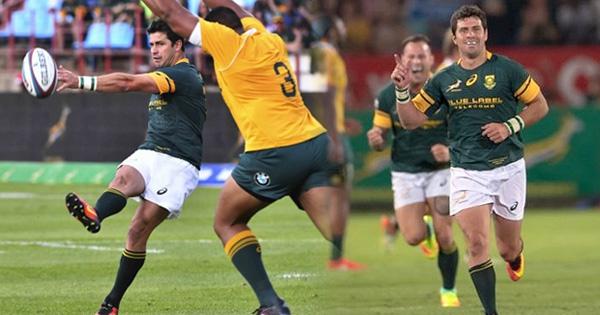 Morne Steyn kicks Springboks to victory over the Wallabies