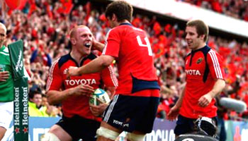 Munster surge in the semis with big win over the Ospreys