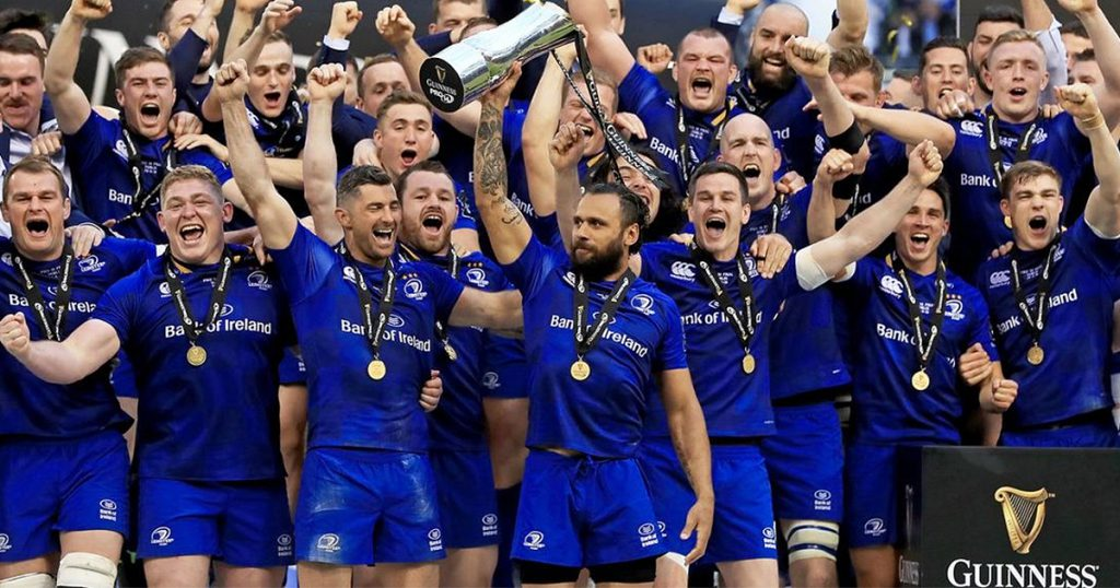 Nacewa cherishes family moment while Larmour magic helps Leinster's double