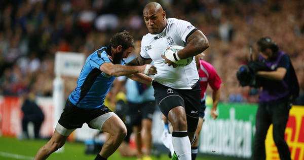Fiji say farewell to the tournament with seven try victory over Uruguay
