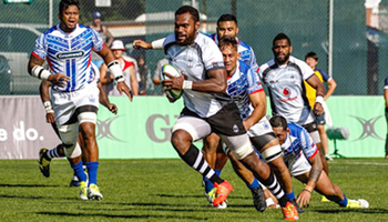 Fiji beat Samoa to win thrilling Pacific Nations Cup final