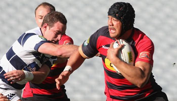 Canterbury's Nasi Manu demolishes Benson Stanley in the ITM Cup