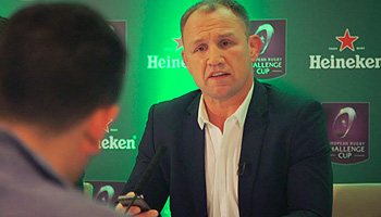 Cheeky fans text their way into fake Champions Cup press conference