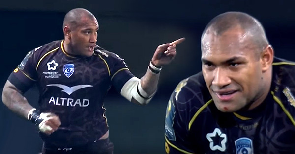 Nemani Nadolo goes full beast mode to demolish Northampton Saints