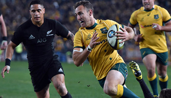 Australia stun New Zealand to win the 2015 Rugby Championship in Sydney