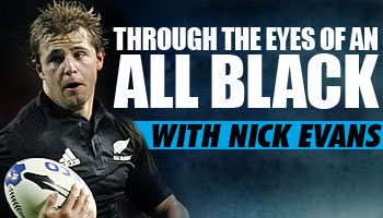 Through the Eyes of an All Black - Rugby Championship catch up with Nick Evans