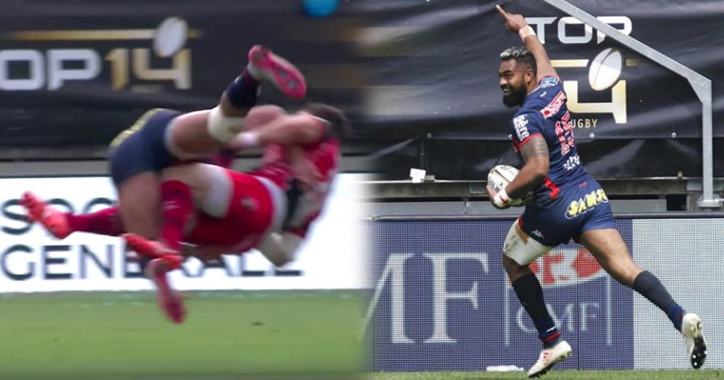 Nigel Hunt delivers huge hit as Grenoble win playoff to return to Top 14