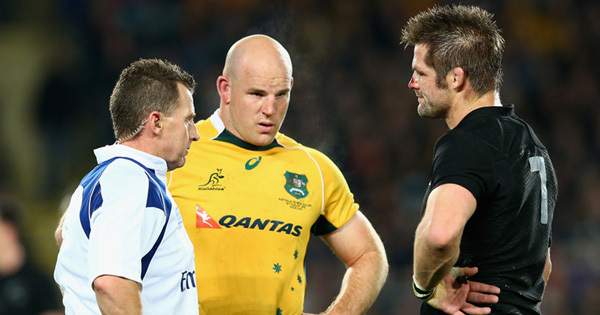 Nigel Owens picked to referee the 2015 Rugby World Cup Final