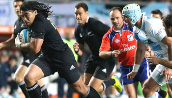 All Blacks win the Rugby Championship with Argentina thumping