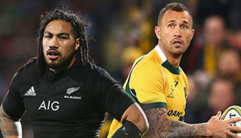 All Blacks and Wallabies make changes for Bledisloe Cup decider in Auckland