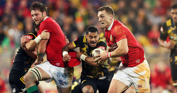 Hurricanes and British & Irish Lions play out thrilling draw in Wellington