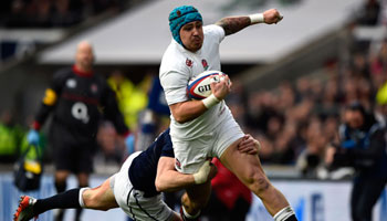 England part of three-horse race for the title after victory over Scotland