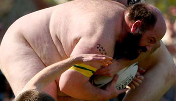 The Nude Blacks get the better of their Australian counterparts in annual match