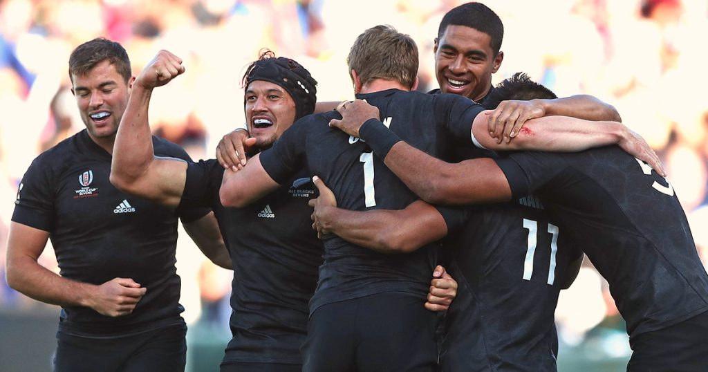 New Zealand claim Rugby World Cup 7s title to secure double triumph