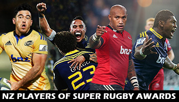 Sky Sport New Zealand's Super Rugby Player Awards