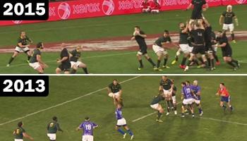 Brilliant Richie McCaw lineout move first done vs Springboks by Samoa in 2013
