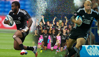 New Zealand win the Gold Coast Sevens after final with Australia