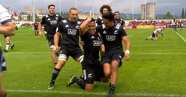 Top 5 Best Tries from day one of the World Rugby U20 Championship