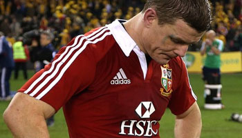 Brian O'Driscoll dropped for series decider against the Wallabies