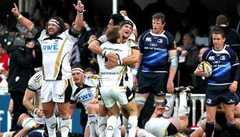 Ospreys beat Leinster to win the Magners League Grand Final