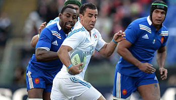 Flyhalf Luciano Orquera's best bits against France in Rome
