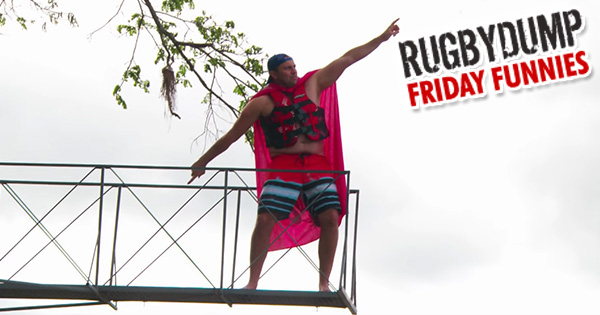 Friday Funnies - Behind the Scenes Bloopers from 'The Other Rugby Show'