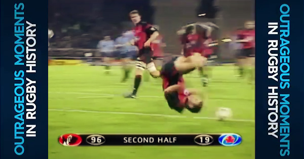 Outrageous Moments in Rugby History: Matt Burke relives a 96-19 thrashing