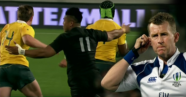 Wallabies disallowed try viewed as a major turning point in loss