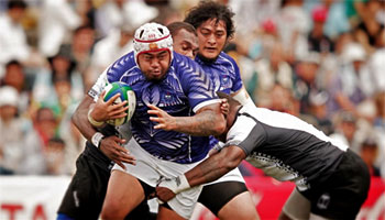 Three great tries from Samoa vs Fiji in the 2012 Pacific Nations Cup