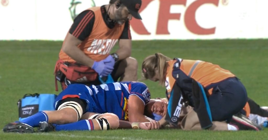 Richie Mo'unga only given warning for tackle that knocked out Stormers lock