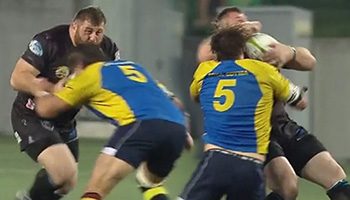 Mammoth tackle as two giant Polish forwards meet in Cup Final