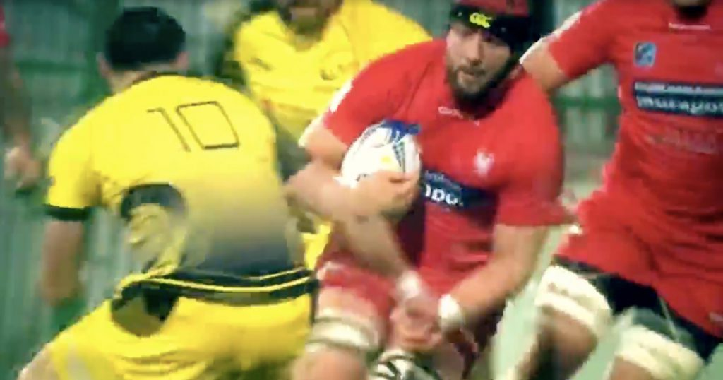 Polish skipper launches opposition flyhalf with devastating charge