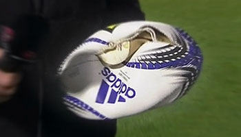 Ball explodes in ITM Cup match between Northland and Southland