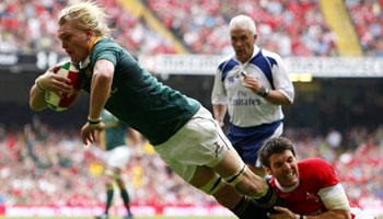 South Africa come up trumps against Wales in Cardiff