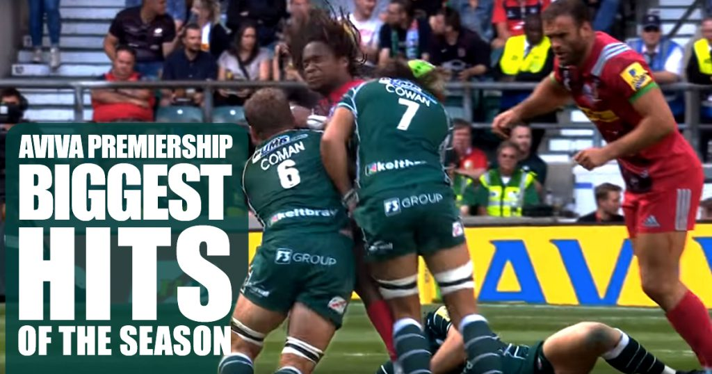 Rib tickling Biggest Hits of the Season compilation for the Aviva Premiership