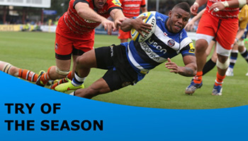 Six of the Best - Aviva Premiership Try of the Season Shortlist