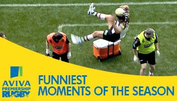 Five Funniest Moments of the 2013/2014 Aviva Premiership Season