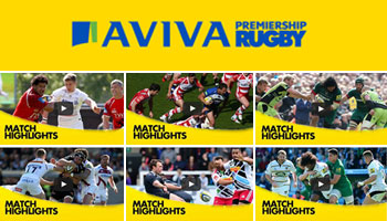 The Aviva Premiership Highlights Wrap - Round 22