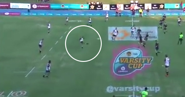 Pukke fullback launches HUGE dropgoal in Varsity Cup Semi Final