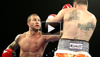 Quade Cooper wins first professional fight with first round knockout