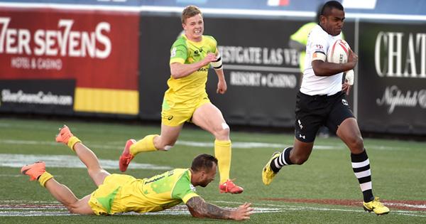 Quade Cooper errors prove costly as Fiji beat Australia to retain Vegas 7s title
