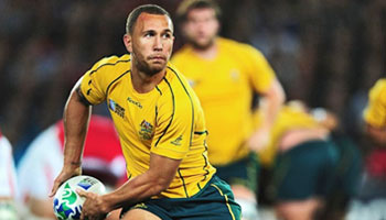 Quade Cooper returns after seven months off through injury