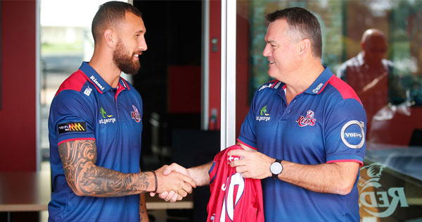 Quade Cooper back in Australia until 2019 with new Reds deal