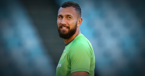 Quade Cooper is back for the Wallabies to face the All Blacks
