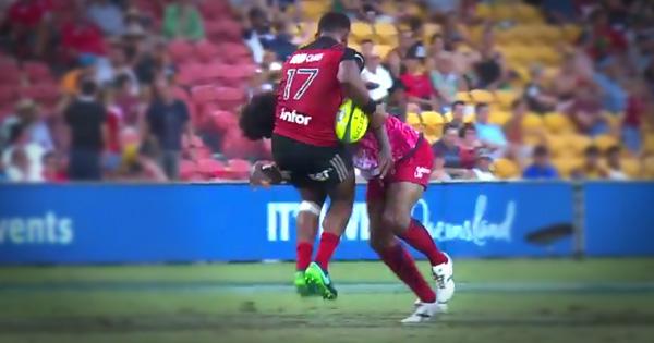 Old man Radike Samo smashes young fellow Fijian in Brisbane